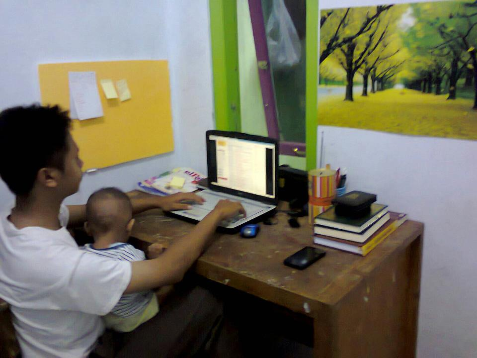 work at home, stay at home
