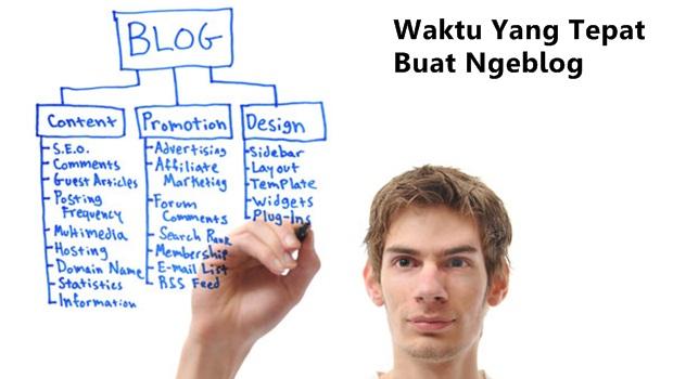 waktu ngeblog