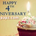 anniversary papapz.com 4th