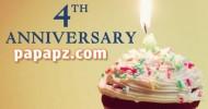 anniversary papapz.com 4th