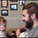 sebelum jenggot ayah dicukur