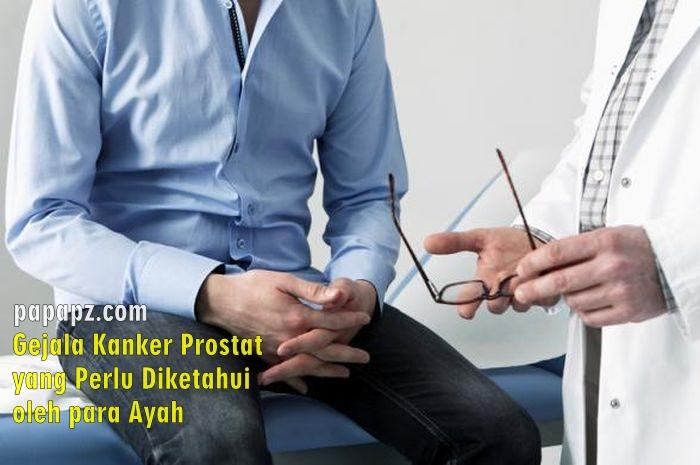 gejala kanker prostat