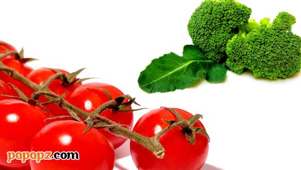 khasiat tomat dan brokoli