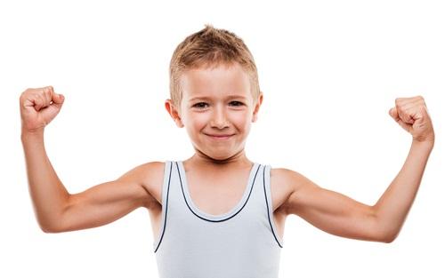 anak sehat dan kuat